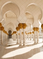 Zayad Mosque - courtesy Abu Dhabi Tourism Authority
